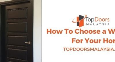 How To Choose a Wood Door For Your Home