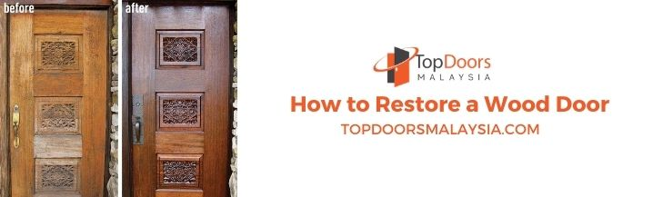 How to Restore a Wood Door