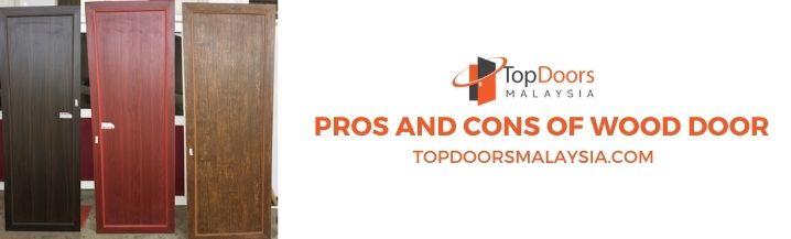 Pros and Cons Of Wooden Door