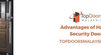 Advantages Of Having Security Doors For Your Home