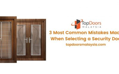 3 Most Common Mistakes Made When Selecting a Security Door