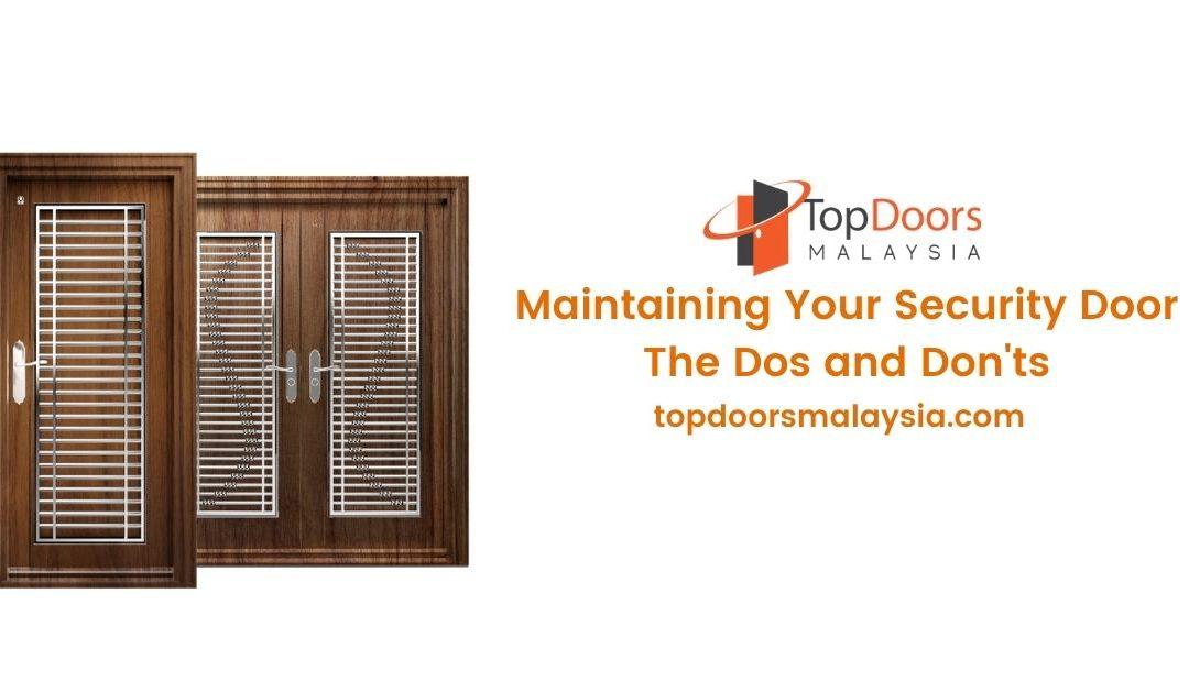 Maintaining Security Door Featured Image